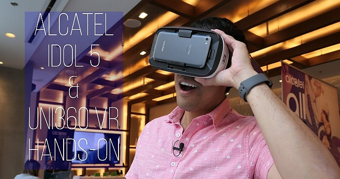 Virtual Reality comes into the Idol 5